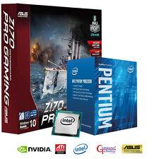 INTEL PENTIUM SKYLAKE CPU ASUS Z170 PRO GAMING ATX MOTHERBOARD UPGRADE BUNDLE