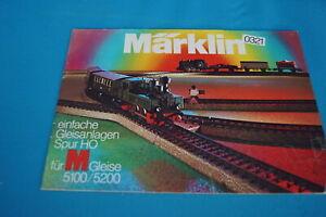 Marklin-0321-Einfache-Gleisanlagen-fur-gleise-5100-5200-D