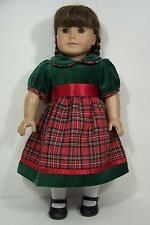 """PINK BLACK Butterfly Plaid Dress Doll Clothes For 18/"""" American Girl Debs"""