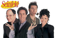 Seinfield Cast Poster The Show About Nothing Comedy Nbc Cultural Phenomenon
