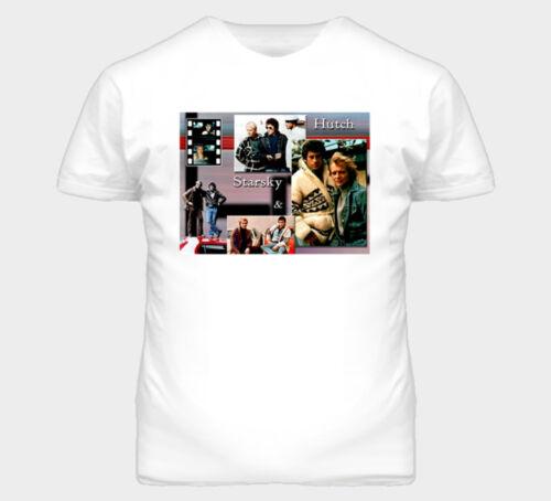 Starsky And Hutch Retro 80s TV Show T Shirt