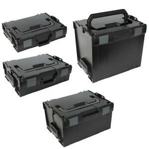 Sortimo-Systemkoffer-Set-L-Boxx-102-136-238-374-schwarz-Industrial-Line
