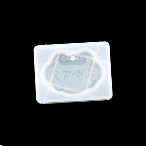 DIY Silicone Guanyin Buddha Pendant Mold Making Jewelry For  Necklace Mould