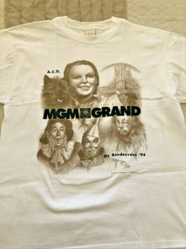 "Wizard of Oz 1994 MGM Grand ""Oz Rendezvous"" T-Shir"