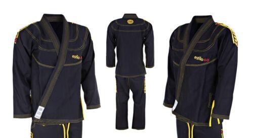 Tatami BJJ Estilo 5.0 Black Gold Brazilian Jiu Jitsu Uniform Kimono Express P/&P