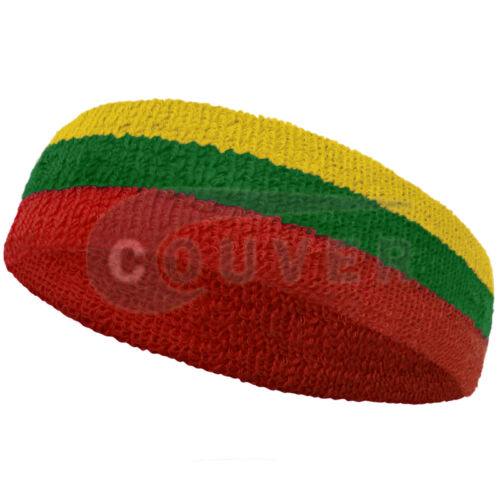 Couver National Country Flag color Sport Head Sweatband, 1 piece