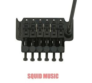 Floyd-Rose-Original-Black-Tremolo-System-with-R2-R3-or-R4-Nut-NEW-German