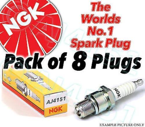 8X nouveau ngk bougies d'allumage de rechange-partie No stock B8ES n ° 2411 8pk sparkplugs