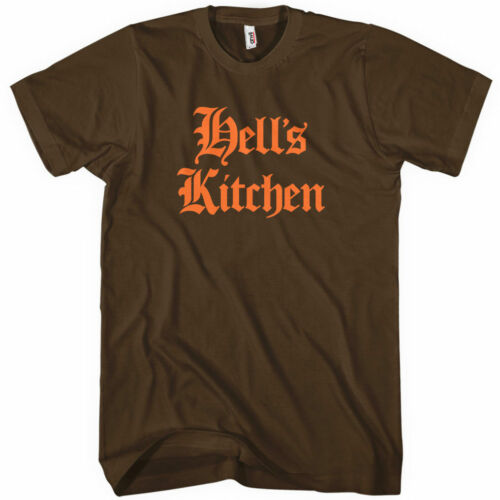 Gothic HELL/'S KITCHEN T-shirt NEW XS-4XL New York City NYC 212 Manhattan