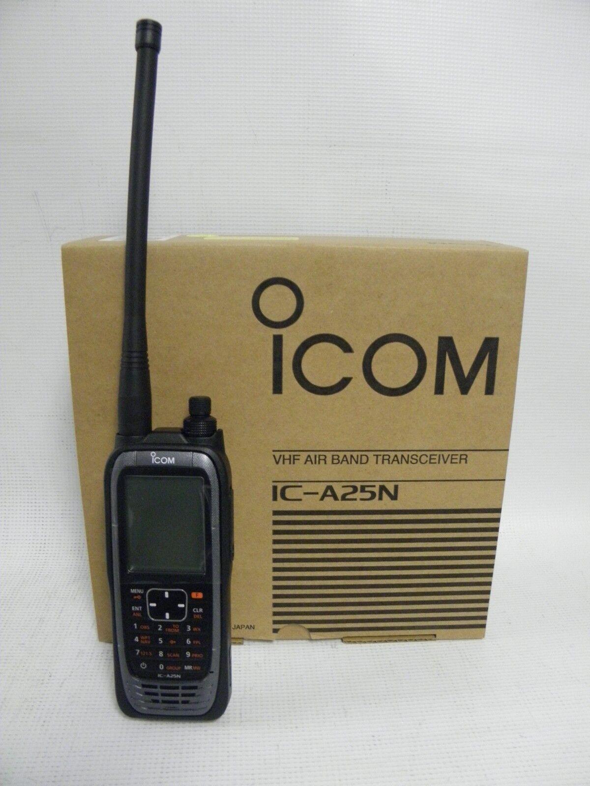 3cc7d6a6c52 Icom Ic-a25n VHF Airband Transceiver NAV   Com Channels for sale ...