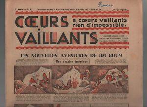 COEURS-VAILLANTS-1935-n-18-Tintin-et-Milou-en-Orient