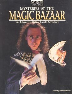 Magic-Bazaar-Mystery-Jigsaw-Puzzle-Signed-by-Author-Birthday-Holiday-Gift