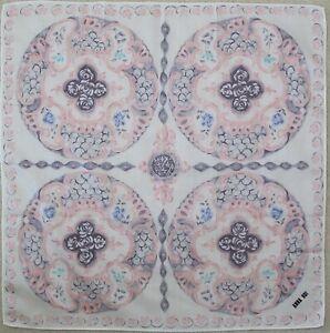 Authentic Anna Sui designer cotton scarf neckerchief vintage floral