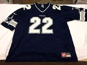 official photos c529b bded2 Details about Vintage Emmitt Smith Dallas Cowboys Jersey Nike Team Adult  XXL 2XL