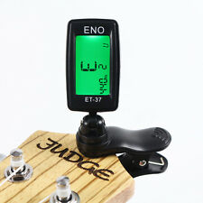 Chromatic LCD Clip On Digital Tuner For Electric Guitar Bass Violin Ukulele