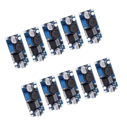 10 un LM2596 DC-DC Buck Ajustable Reductor módulo conversor de fuente de alimentación
