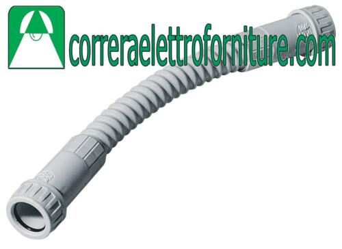 20mm IP65 PER TUBI RIGIDI PVC ELETTROCANALI ECCXT20 CURVA FLESSIBILE D