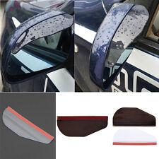Left and Right Rear View Side Mirror Rain Snow Eyebrow Sun Visor Shade Shield