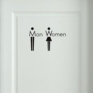 Wandtattoo-Man-Women-Bad-WC-Toiletten-Tueraufkleber-Buero-Sprueche-Wandtatoo-6O