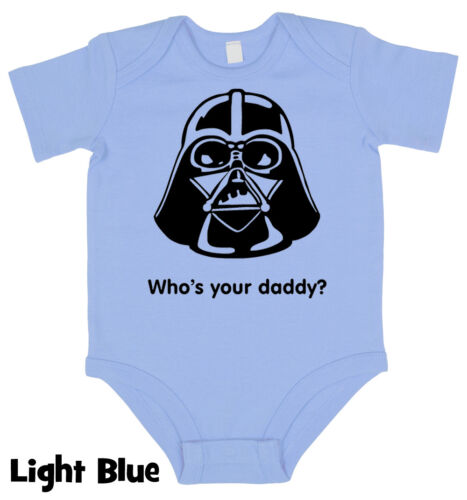 Who is Your Daddy Star Baby grow Boy Girl Babies Clothes  Vest Gift Wars Present