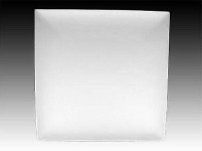 Metropolitan Coupe Square Salad Dessert Plate Glass Slump Kiln Mold