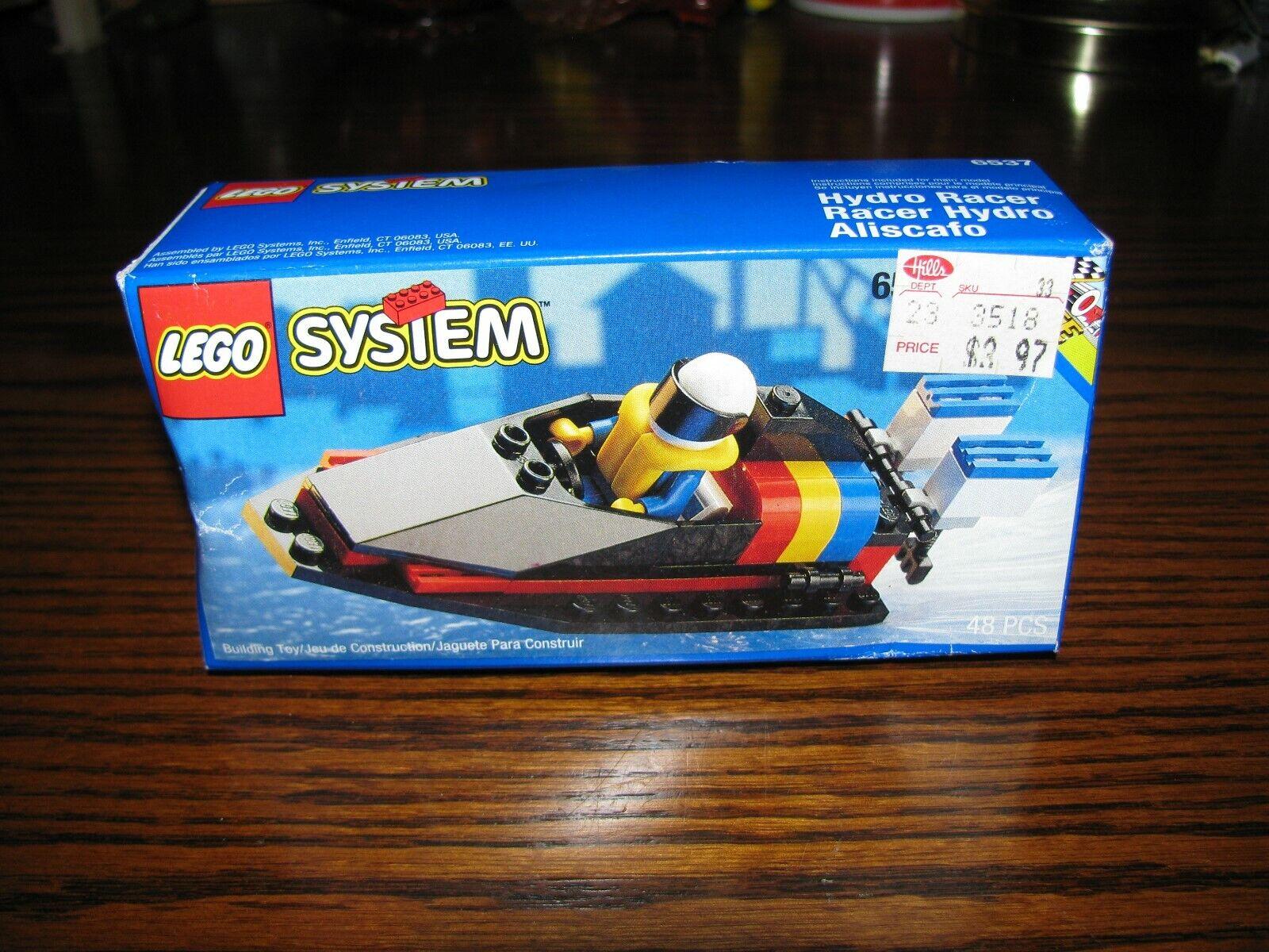 Vintage - 1994 Lego System Hydro Racer    Nuevo  todavía SELLADO  Raro  6537