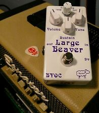 BYOC Large Beaver Fuzz Triangle Big Muff Guitar Effects Pedal Alchemy Audio