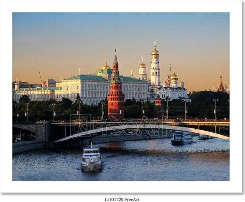 Poster Home Decor Russia Art//Canvas Print Wall Art Moscow