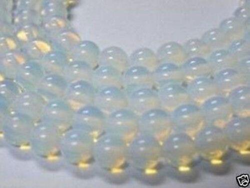 "4-12MM Sri Lanka Natural Moonstone Round Gemstones Loose Beads 15/"""