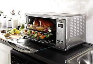... Toaster Ovens > See more Oster TSSTTVXLDG Extra Large Digital Toaster