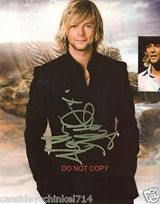 """Keith Harkin of the Celtic Thunder band Reprint Signed 8x10"""" Photo #3 RP"""
