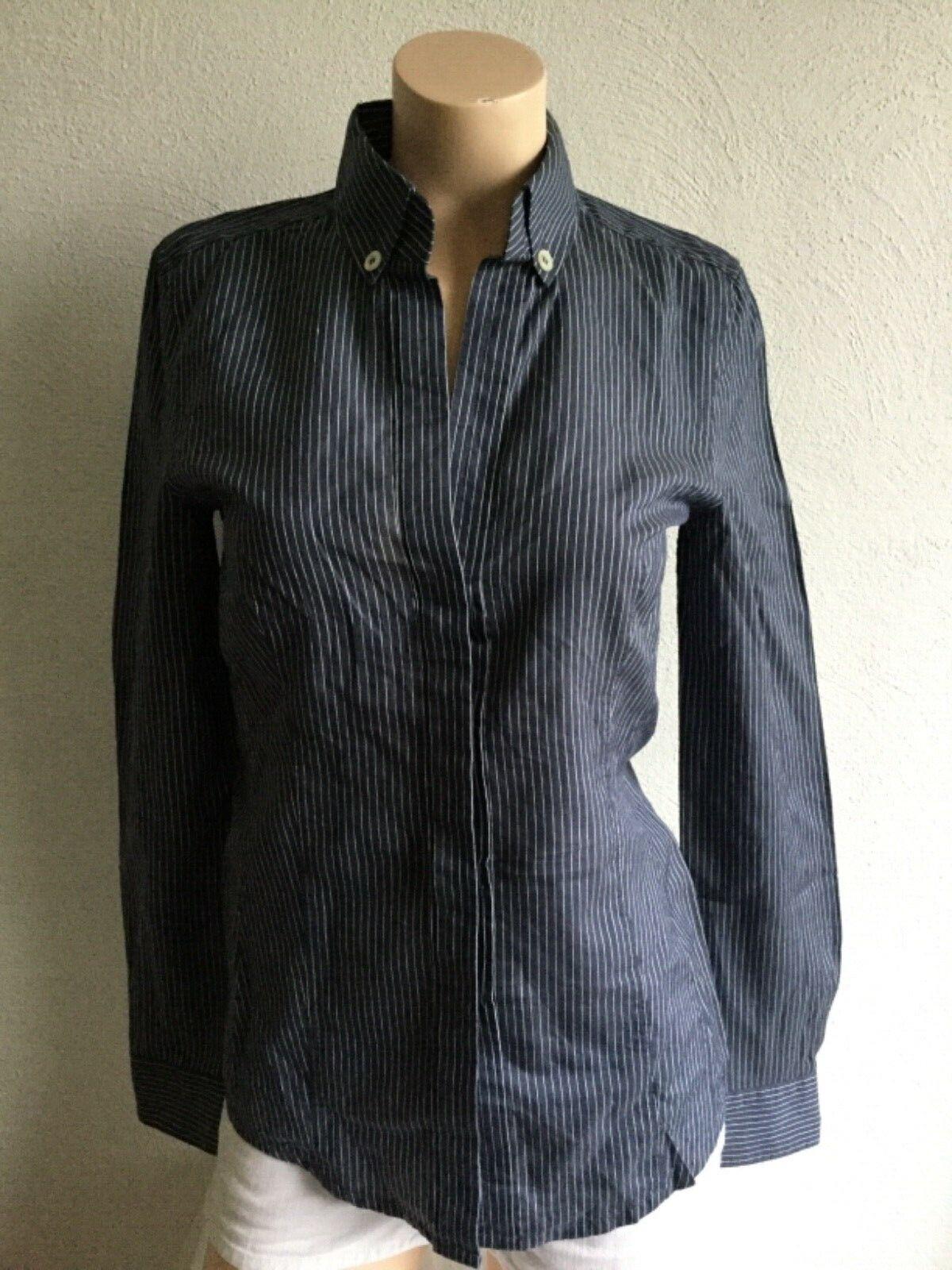 Windsor Damen Blause mit Seide Oberteil Shirt Gr. 32