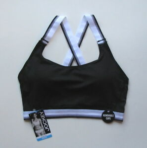 Jockey Sporties Modern Fit Crop Top Sport Bra Choose Size and Color   NWT
