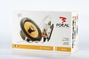 Focal-165KRC-Car-Speaker-aramid-fiber-inverted-dome-K2-Composite-sandwich-cone