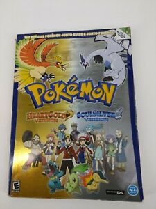 The-Official-POKEMON-Johto-Guide-amp-Pokedex-HEART-GOLD-SOUL-SILVER-Version-Book