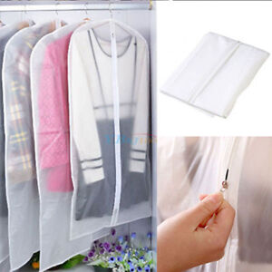Clothes-Dress-Garment-Cover-Bags-Dustproof-Suit-Coat-Storage-Protector-3-Sizes