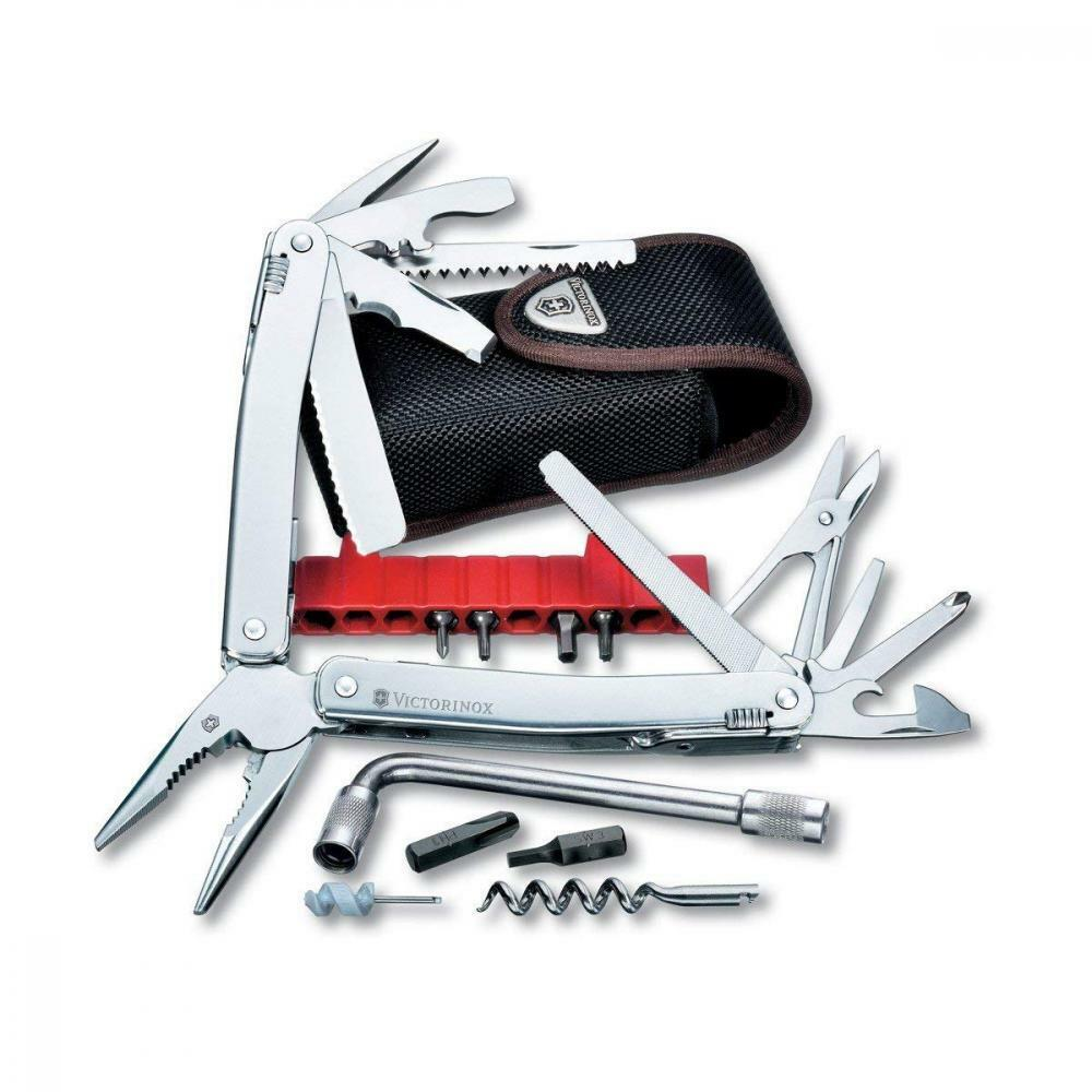 Victorinox Swiss Army  SwissTool Spirit Plus Multi-tool, Includes Nylon Pouch  free and fast delivery available