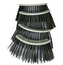 4 Segments Street Sweeper Gutter Broom For Elgin Tymco Schwarze 22 In 32 Holes