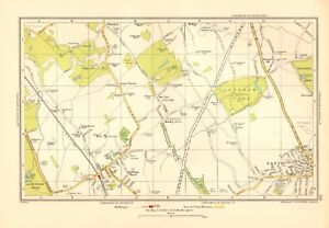1936 large scale london map elstree barnet shenley dyrham park ebay image is loading 1936 large scale london map elstree barnet shenley publicscrutiny Image collections