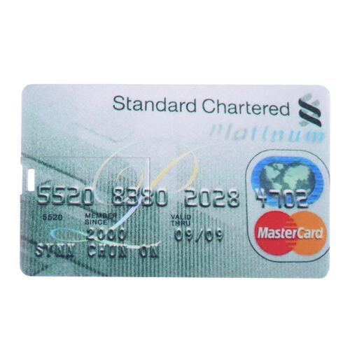 32GB Credit Card Model Flash Drive Memory USB 2.0 Pendrive Stick 16GB 1MB Lot