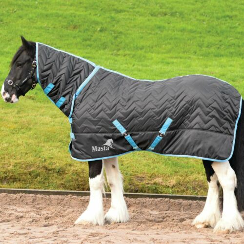 Masta Avante 300 G fixe Cou Confort 210D Anti Frottement Cheval Poney Yard Stable Rug