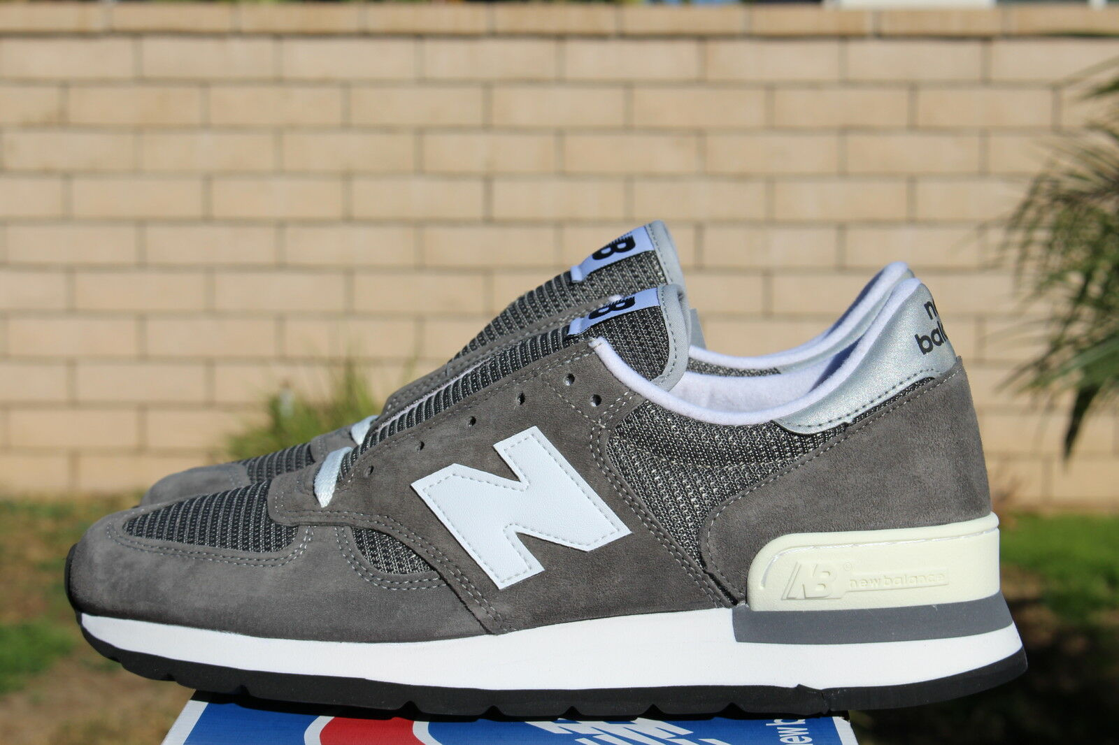 NEW BALANCE 990GRY 30TH ANNIVERSARY 12 GREY M990GRY *ONLY 990 PAIRS MADE RARE*