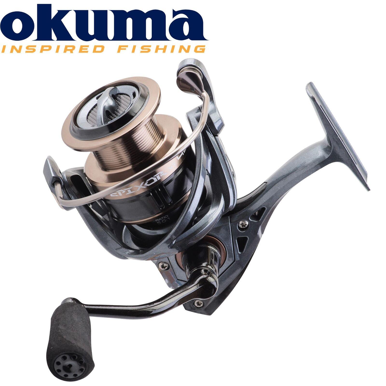 Okuma Epixor XT Spinning EPXT-40 - Spinnrolle für Hecht & Zander, Hechtrolle