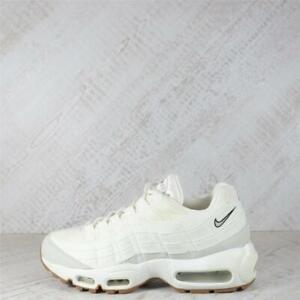 Womens Nike Air Max 95 Premium Sail/Light Bone Trainers (EXD) RRP £99.99