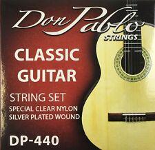 Don Pablo Classic Strings Clear Nylon. Juego De Cuerdas Para Guitarra Clásica
