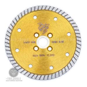 5 Inch 3 Piece Turbo Convex saw Blade Premium Grade Granite Concrete Sink Cutter