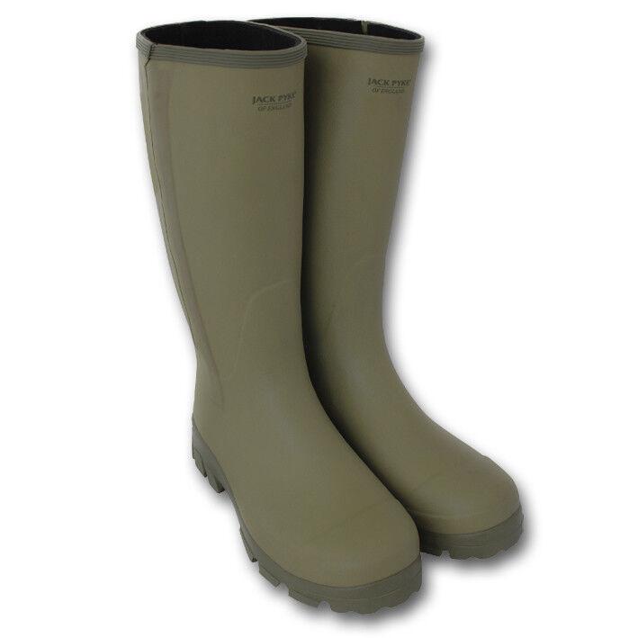 Los últimos zapatos de descuento para hombres y mujeres Jack Pyke ashcombe CON CREMALLERA Wellington Botas de agua caza hunter Cacería
