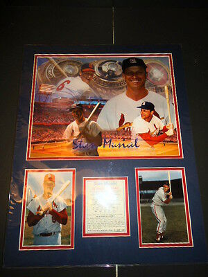 Fanartikel Brillant Stan Musial St Louis Cardinals Baseball Karriere Highlights Ungerahmt Bild Mit Den Modernsten GeräTen Und Techniken