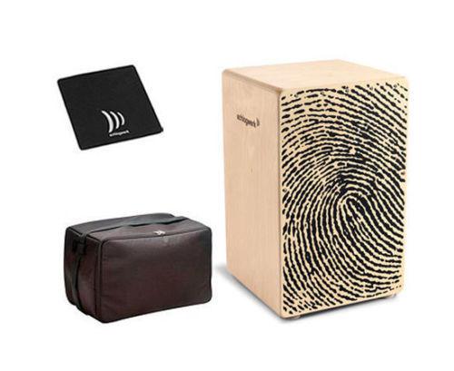 Tasche /& Sitzpad   *SONDERPREIS* Schlagwerk Cajon X-One Fingerprint CP-107 inkl