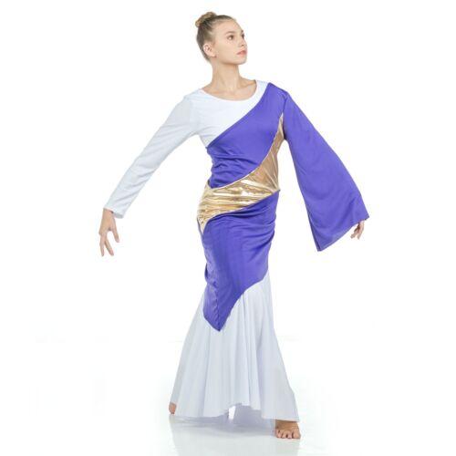 Danzcue Asymmetrical Praise Dance Pullover